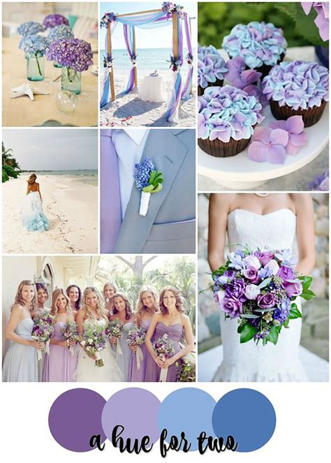 color schemes for weddings blue and purple colour scheme wedding ideas by colour chwv
