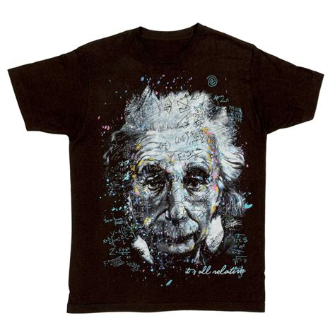 Albert Einstein Tshirt show your inner genius wearing albert einstein it s all