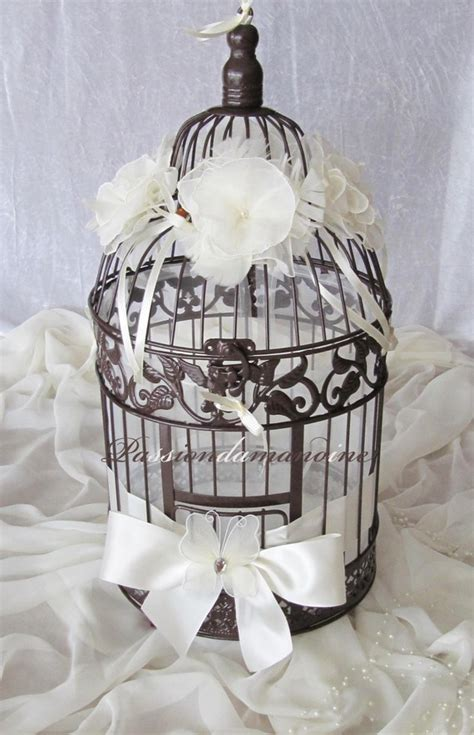 Decorer Une Cage A Oiseau by Urne Mariage Cage 224 Oiseaux 4 D 233 Co Pour Mariage