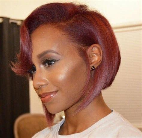 black short hair showcas red hair black girl with colorful hair black womens