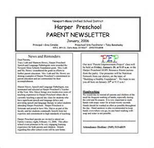 preschool monthly newsletter template 17 best ideas about preschool newsletter templates on