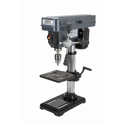 bench drill 12 speed 10in drill press 250 3100 rpm 1 2hp mt2 taper 3 5 amp ballbearing motor ebay