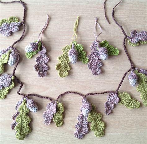 free crochet pattern leaf garland crochet garland pattern free grandmother s pattern book