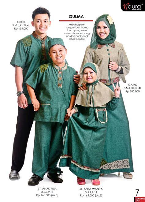 Baju Muslim Keluarga Zoya gulma by naura baju muslim gamis modern