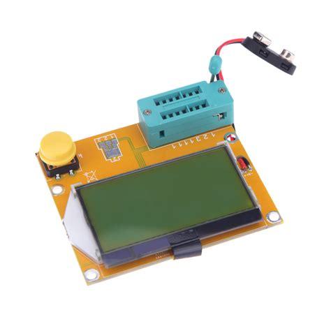 resistor value for lcd backlight lcd backlight esr meter lcr led transistor tester diode triode capacitance diagnostic tool mos