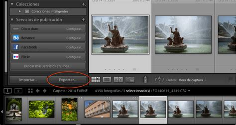tutorial de lightroom tutorial c 243 mo guardar como jpg una imagen editada en