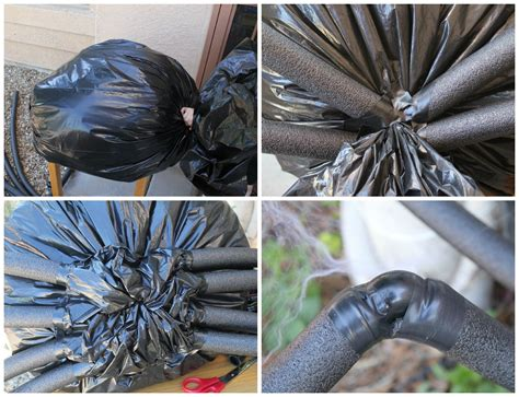 How To Make A Large Spider Decoration by Diy Yard Decor Spider In Spiderweb