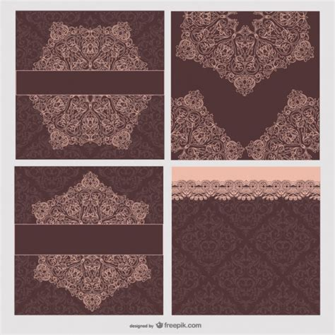 Lace Pattern Freepik | lace pattern lace vector material vectors photos and psd