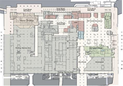 union station toronto floor plan union station revitalization urban toronto