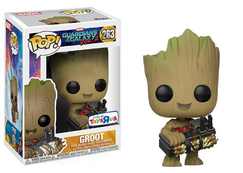 Funko Pop Guadian Of The Galaxy 2 Groot funko pop marvel guardians of the galaxy volume 2 3 75 inch vinyl figure groot holding bomb