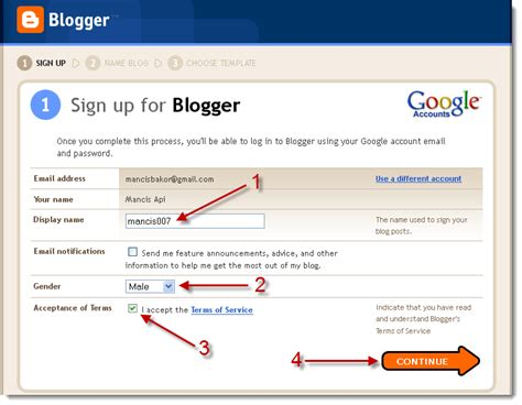 cara membuat blog via hp mancis dah basah macam mana cara nak buat blog
