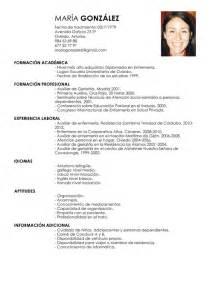 Vita Resume Exle by Curriculum Vitae Resume Cv