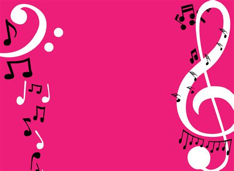 pink wallpaper note 5 music notes backgrounds wallpaper cave