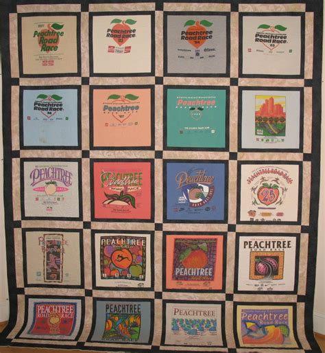 Race Shirt Quilt by Every Quilt Has A Story Blue Feather Quilt Studio