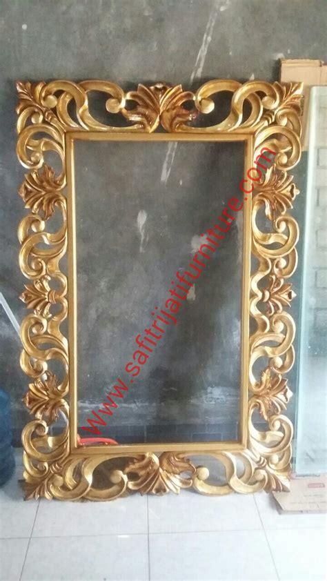 Cermin Bingkai bingkai cermin ukir minimalis jepara safitri jati furniture