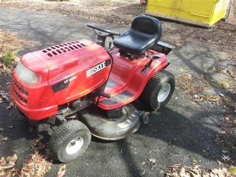huskee lt  riding mower  sale  municibidcom