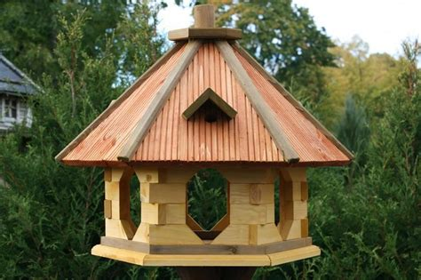 wooden feeding station bird feeder table bird s house