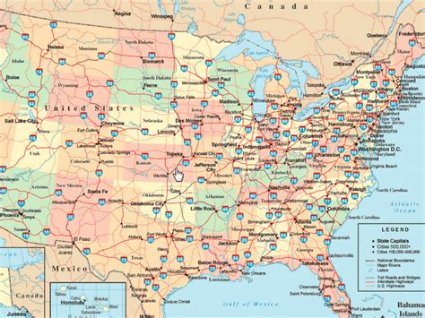 map of interstates in usa how to understand the interstate highway system s nomenclature