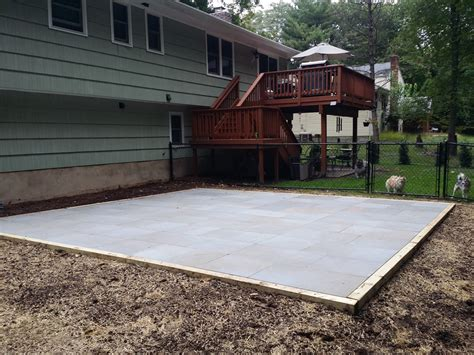 Thermal Bluestone Patio by Thermal Bluestone Patio Almost Landscaping