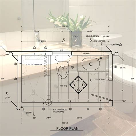 bathroom layout design program c l k design studio standard 5 x 8 bathroom design