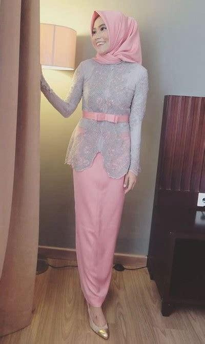 Atasan Kebaya Brokat Gliter Kebaya Brokat Wisuda 50 model baju brokat muslim dari dress gamis hingga gaun pesta