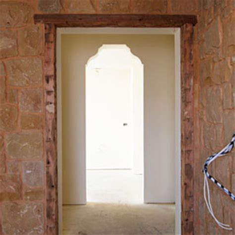 interior wood trim styles idea house preview bathroom doorway using salvaged wood