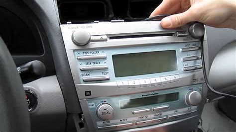 Replace Aux Port In Car by Gta Car Kits Toyota Camry 2007 2011 Install Of Iphone