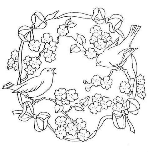 embroidery muster embroidery pattern stickerei ausmalbilder