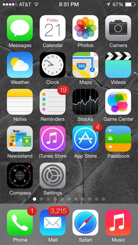 iphone icons ios 6 vs ios 7 icons apple iphone school