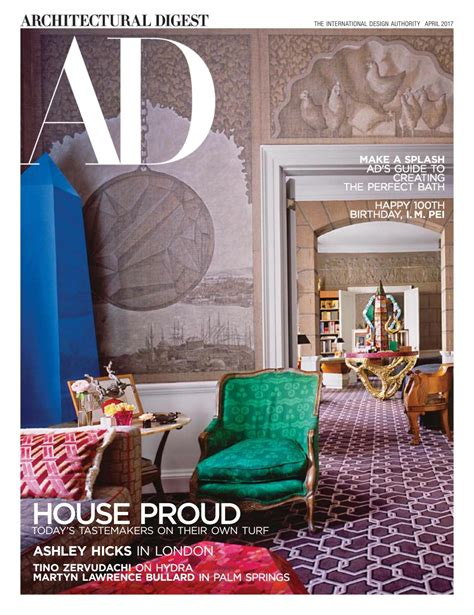 home design magazine germany architectural digest usa april 2017 by mimimi977 issuu