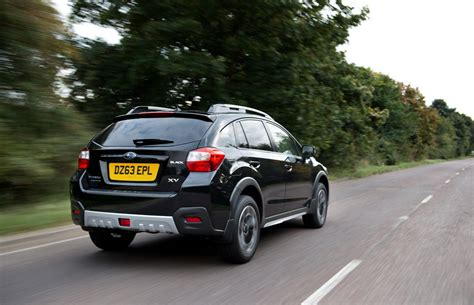 black subaru xv subaru xv black limited edition announced for uk