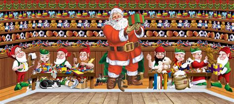 christmas scene setters xmas scenes party delights