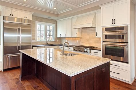 hickory floors with white cabinets custom dark stained hickory flooring traditional