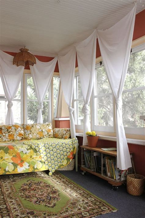 curtains for sun porch интерьеры застекленных веранд