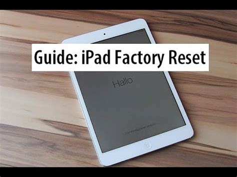 Guide How To Do A Factory Reset On The Nokia Lumia 800 | guide hard reset ipad to factory settings how to wipe