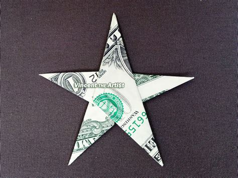 Shaped Dollar Bill Origami - money origami shape dollar bill real