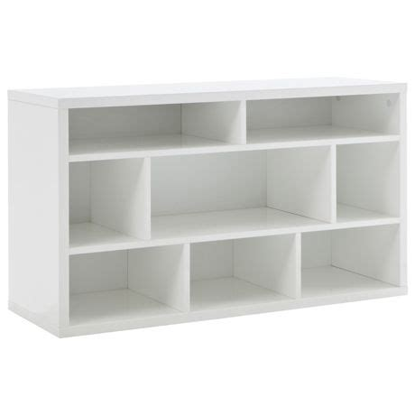 upstairs living signature s bookcase low white 499