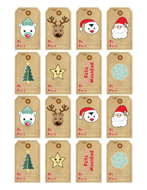 Etiquetas De Navidad Para Imprimir | etiquetas navidad para imprimir