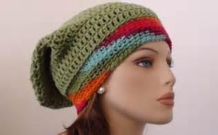 Fruit salad crochet slouchy beanie pattern crochet hooks you