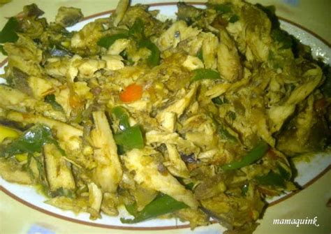 resep ikan suwir cabe ijo oleh mamaquink cookpad