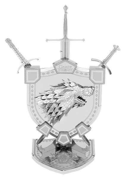Metal Earth Game of Thrones House Stark Sigil | Metal