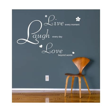 Live Laugh Wall Stickers