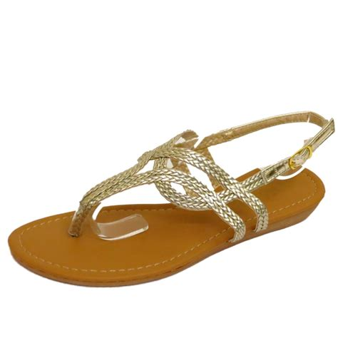 gold flat shoes for gold toe post flat sandals flip flop shoes