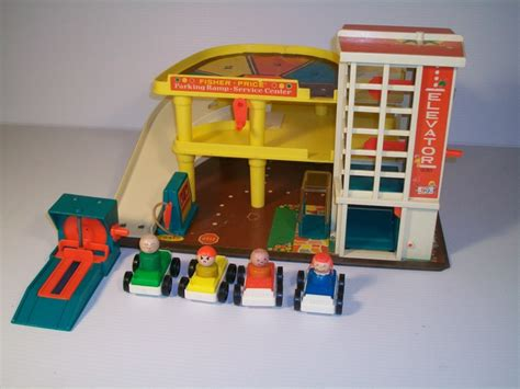 fisher price garage vintage 1970 fisher price play family garage