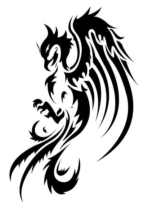 pattern tattoo vector phoenix tattoo vector by thiagobreis on deviantart