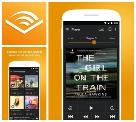 audible mobile store app 8 best audiobook apps you can use on your android phone or