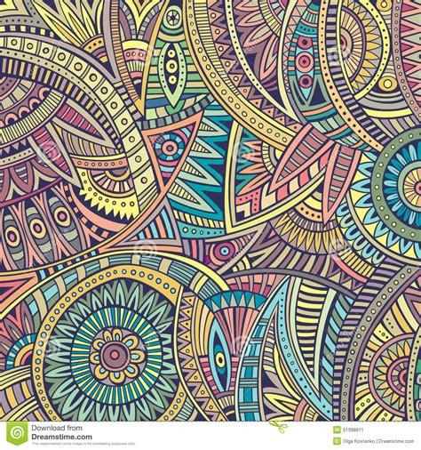 ethnic background abstract vector tribal ethnic background stock image