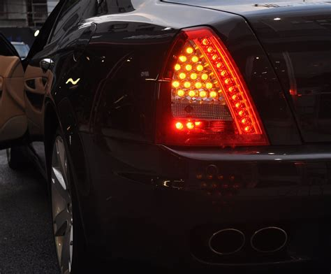 maserati light led tail light pair 2009 2013 exterior quattroporte