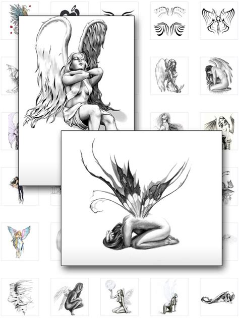 tattoo 2 card printer manual over 75 rare angel tattoo designs download ebooks