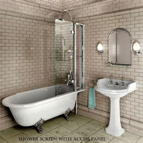 Bath Showers Uk burlington hampton traditional shower bath uk bathrooms